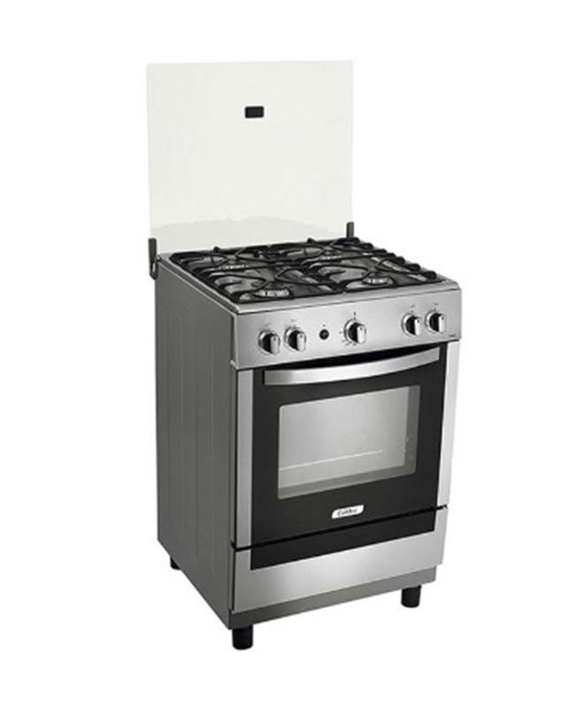 Cocina A Gas Coldex Cx621 Inox 4 Hornillas Plateado La Curacao
