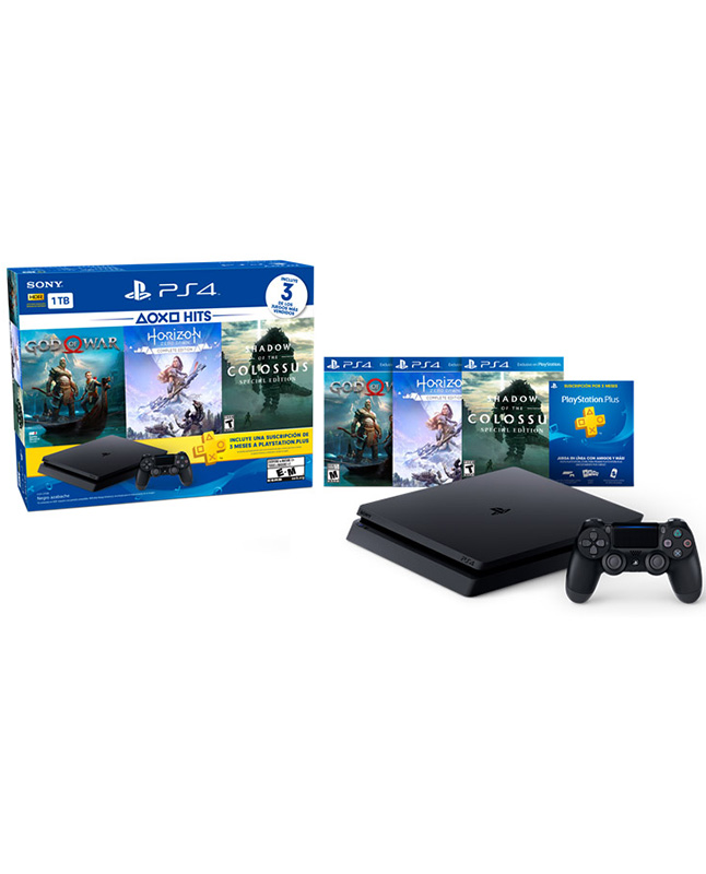 Imagen para Consola PS4 Slim 1TB Hit Bundle 4                                                                                                de La Curacao