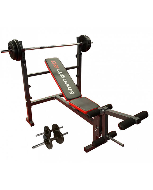 Imagen para Banco plano/inclinado Muvo weight bench                                                                                          de La Curacao