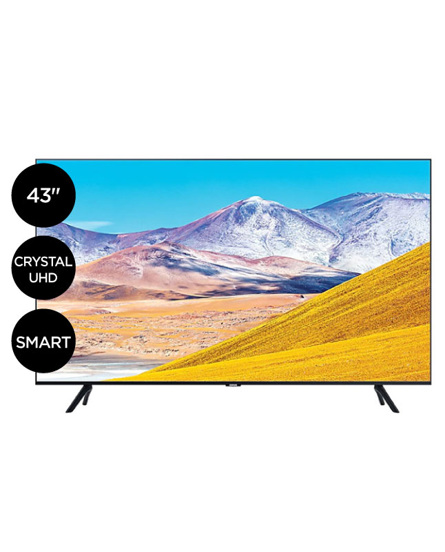 "Imagen para TV Samsung 43"" crystal ultra hd smart tv 43TU8000G                                                                               de La Curacao"