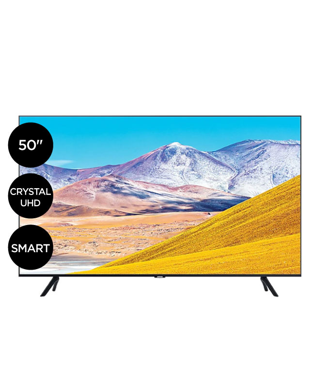 "Imagen para TV Samsung 50"" crystal ultra hd smart tv UN50TU8000GXPE                                                                          de La Curacao"